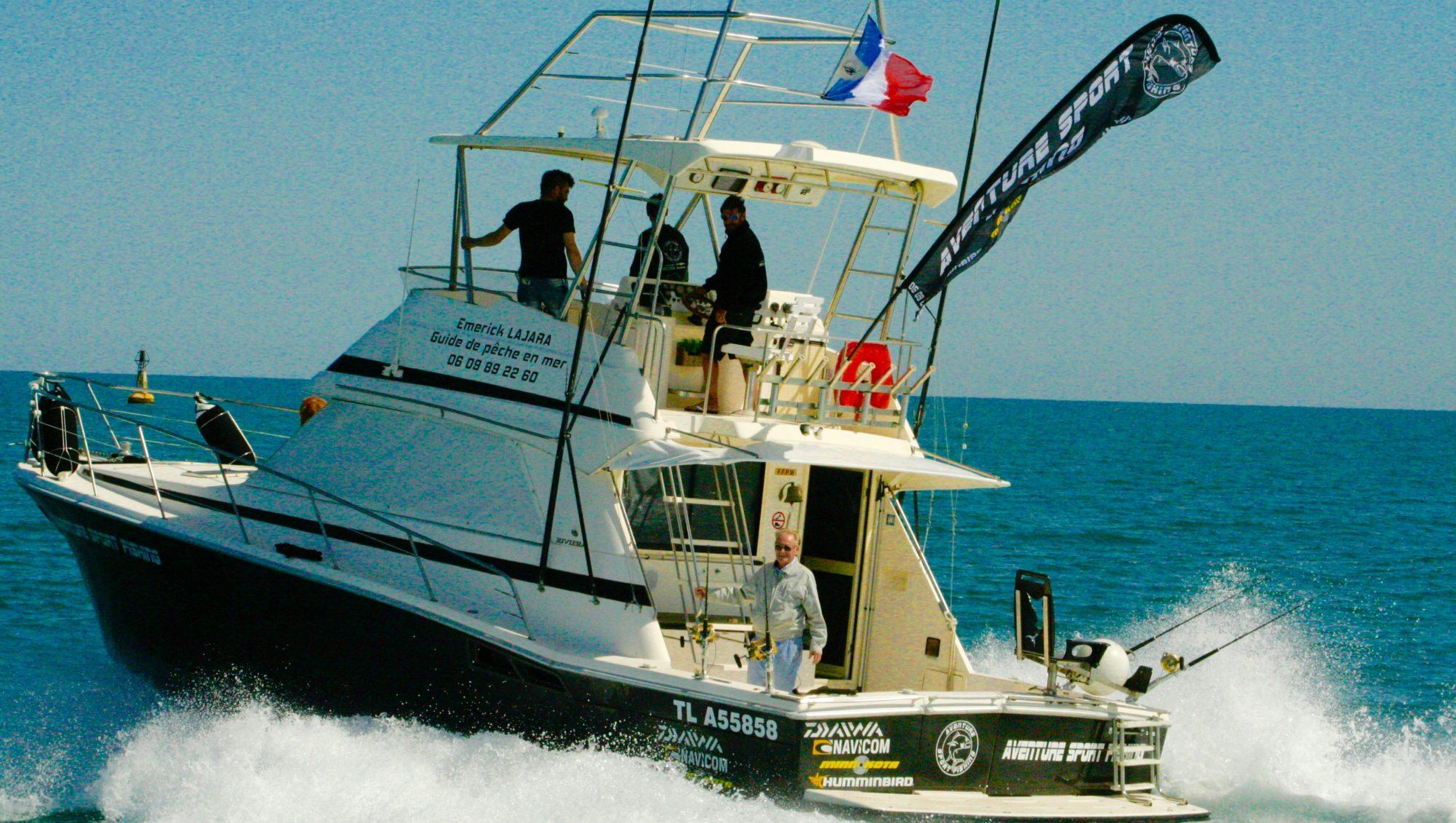Aventure Sport Fishing Pêche Gruissan